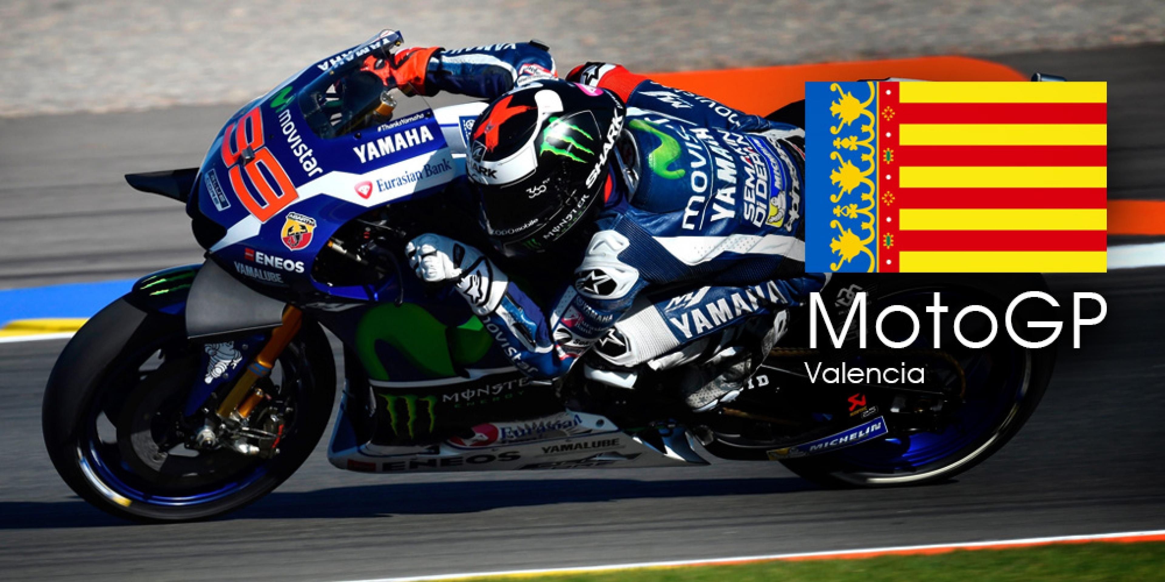 MotoGP 第18站 (最終站) 瓦倫西亞 轉播時間