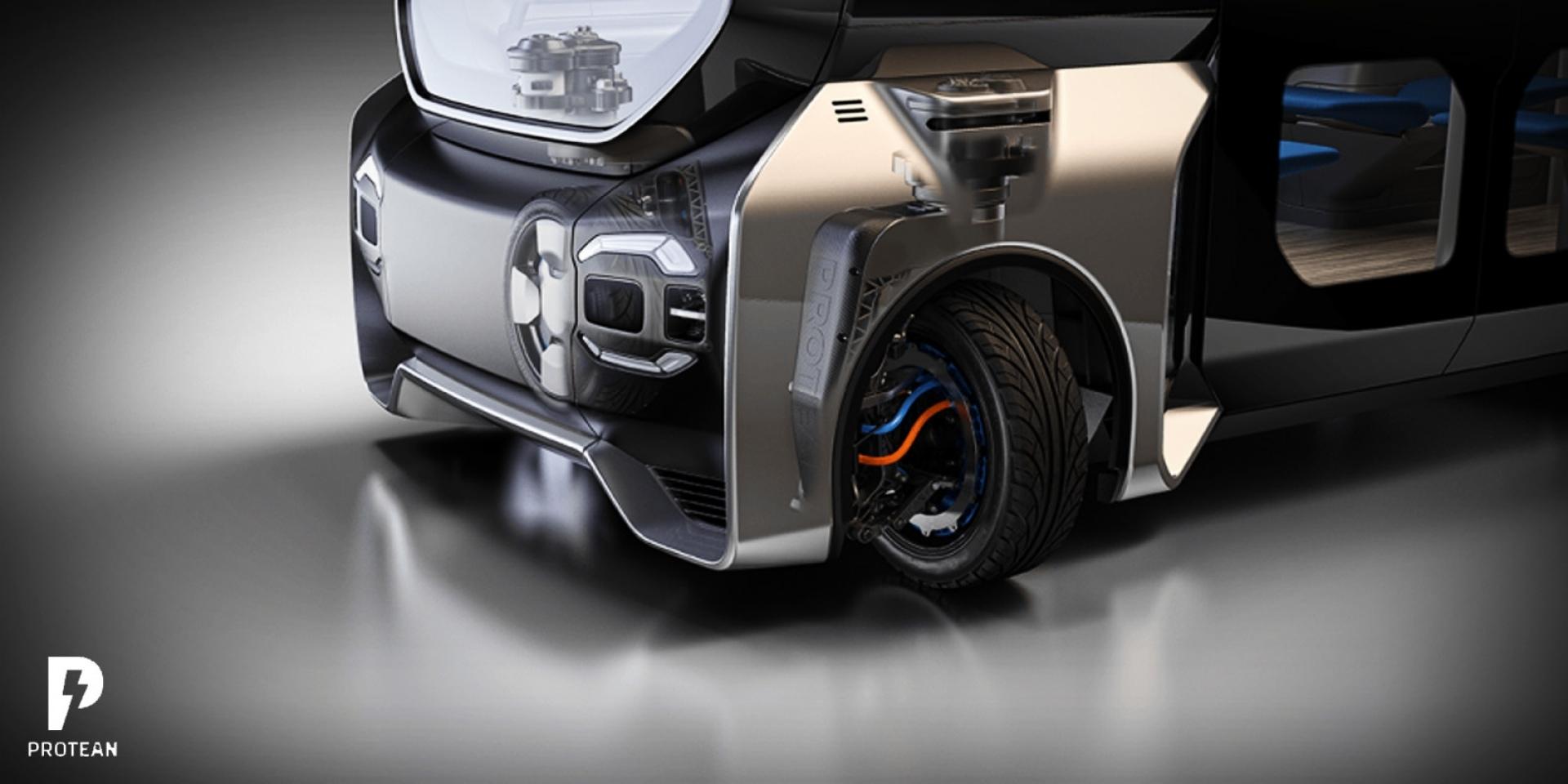 停車輕鬆停!輪框轉向技術Protean 360+概念亮相