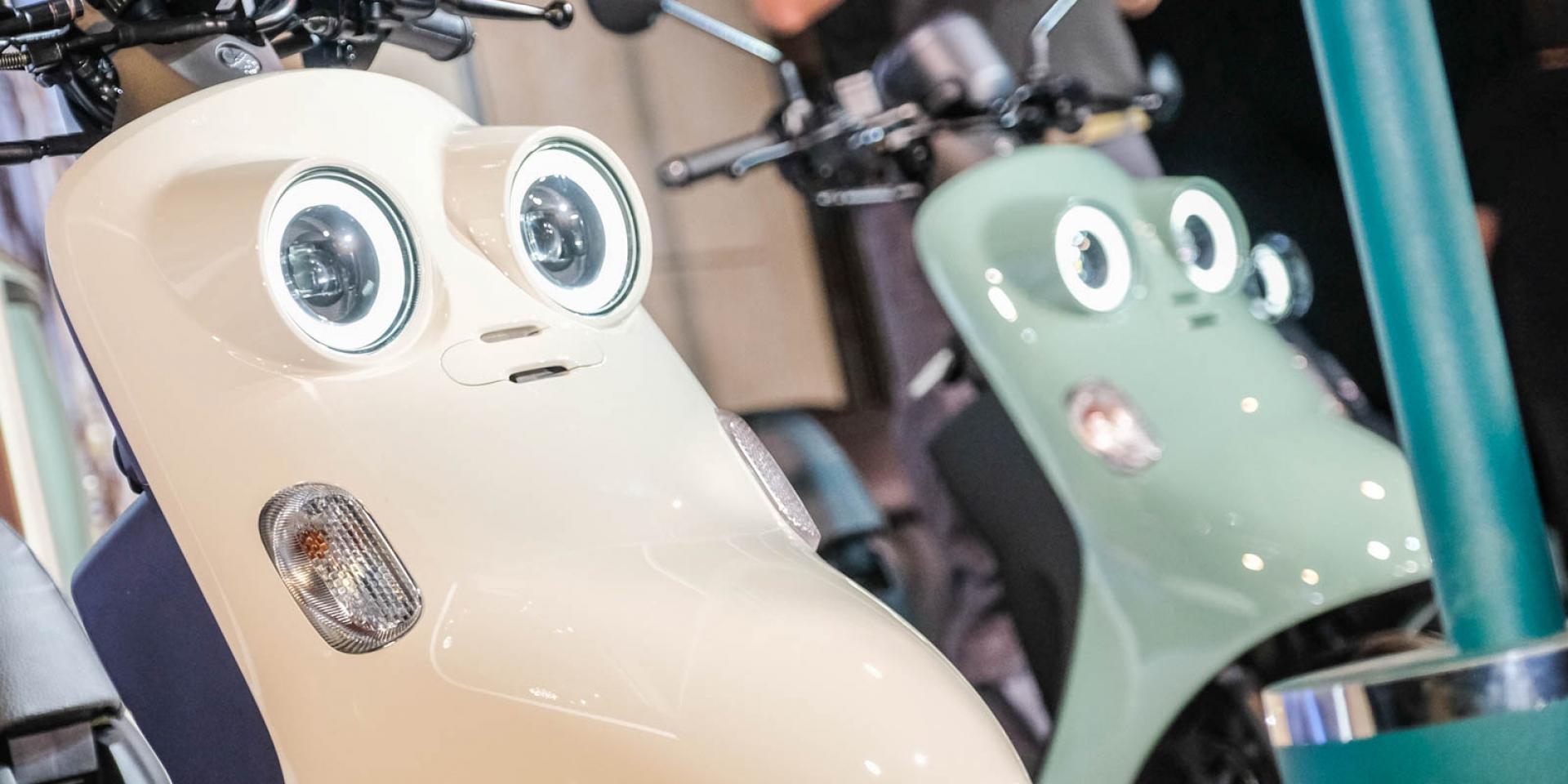 雙圓燈復古時尚!YAMAHA「Vinoora」76,300元發表