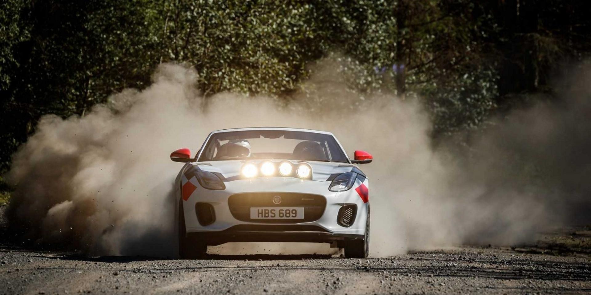 Jaguar打造F-Type拉力賽車,沒打算參加賽事