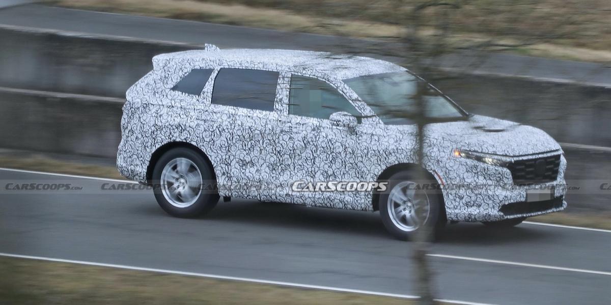 莫非是大改款CR-V?Honda新休旅測試車首次曝光!
