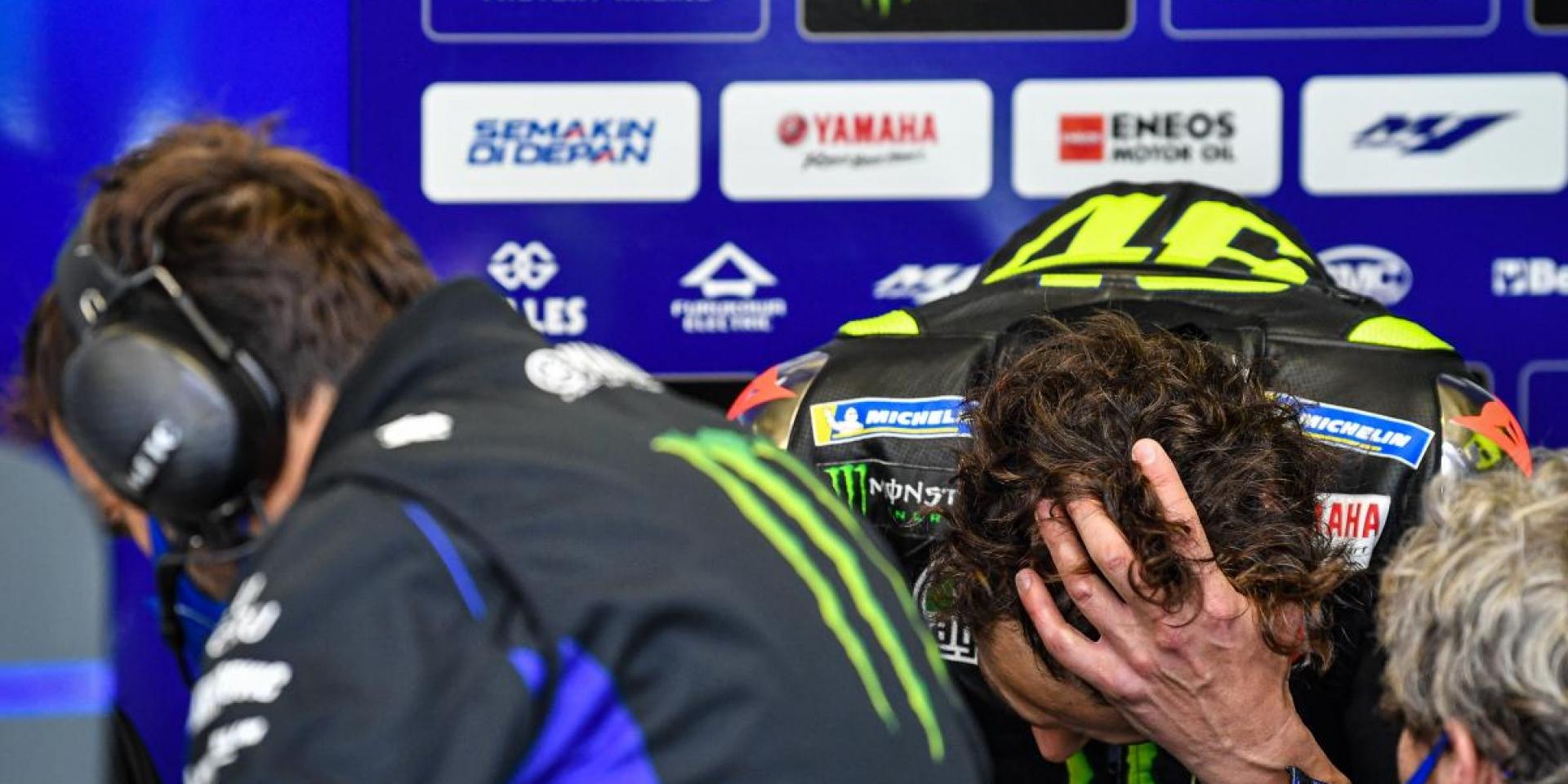 回歸希望落空!Valentino Rossi二度篩檢結果 :很不幸的是陽性反應。