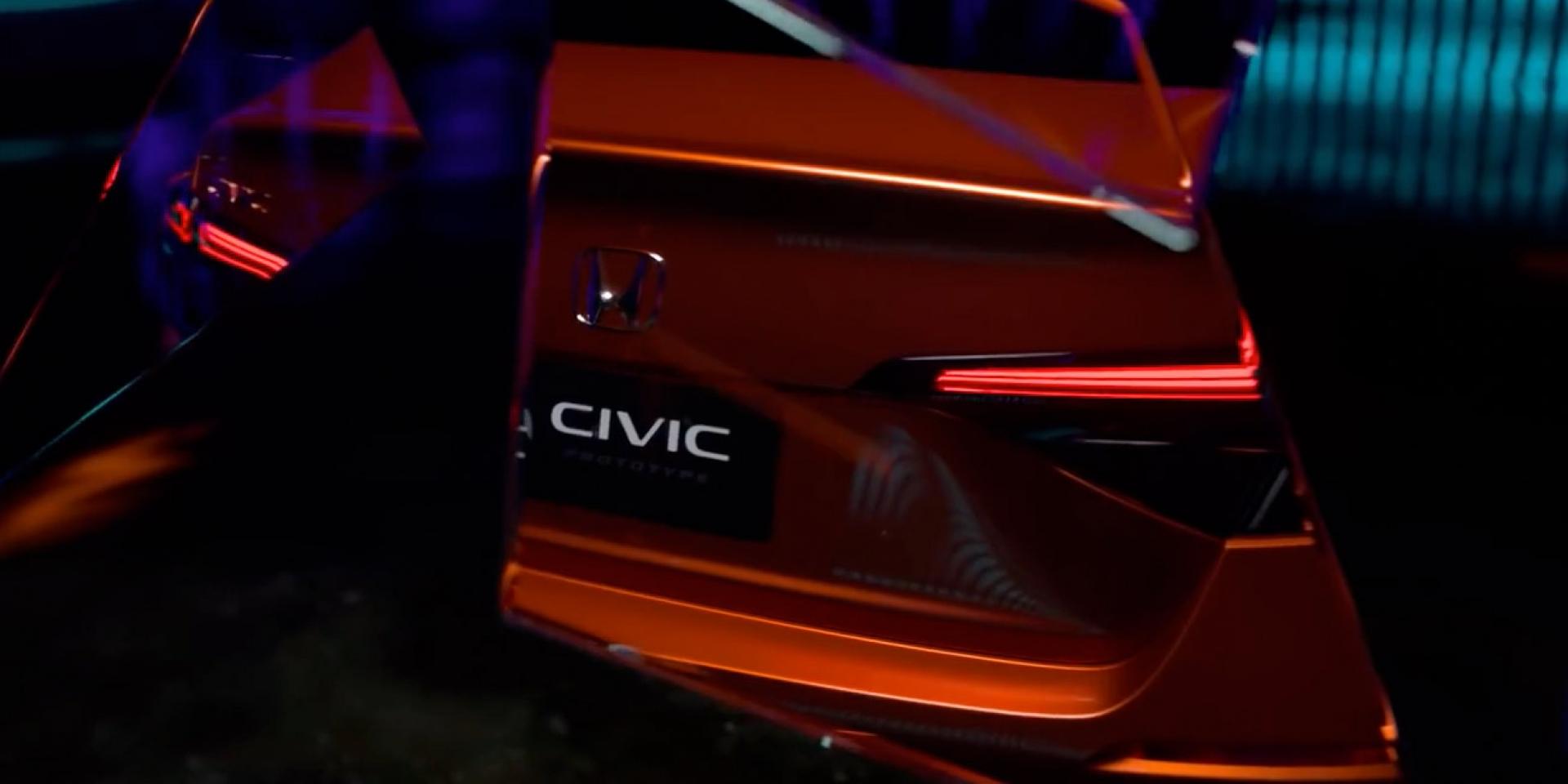等到改款!HONDA USA預告11/17將發表11代CIVIC Prototype