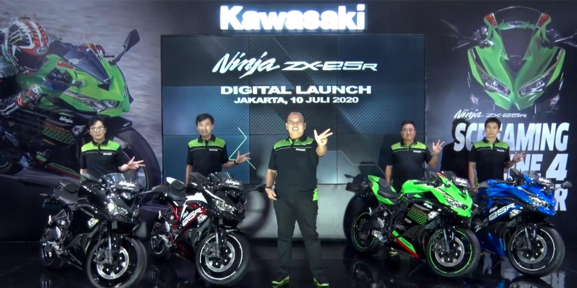 最大馬力51匹!KAWASAKI Ninja ZX-25R 海外正式發表