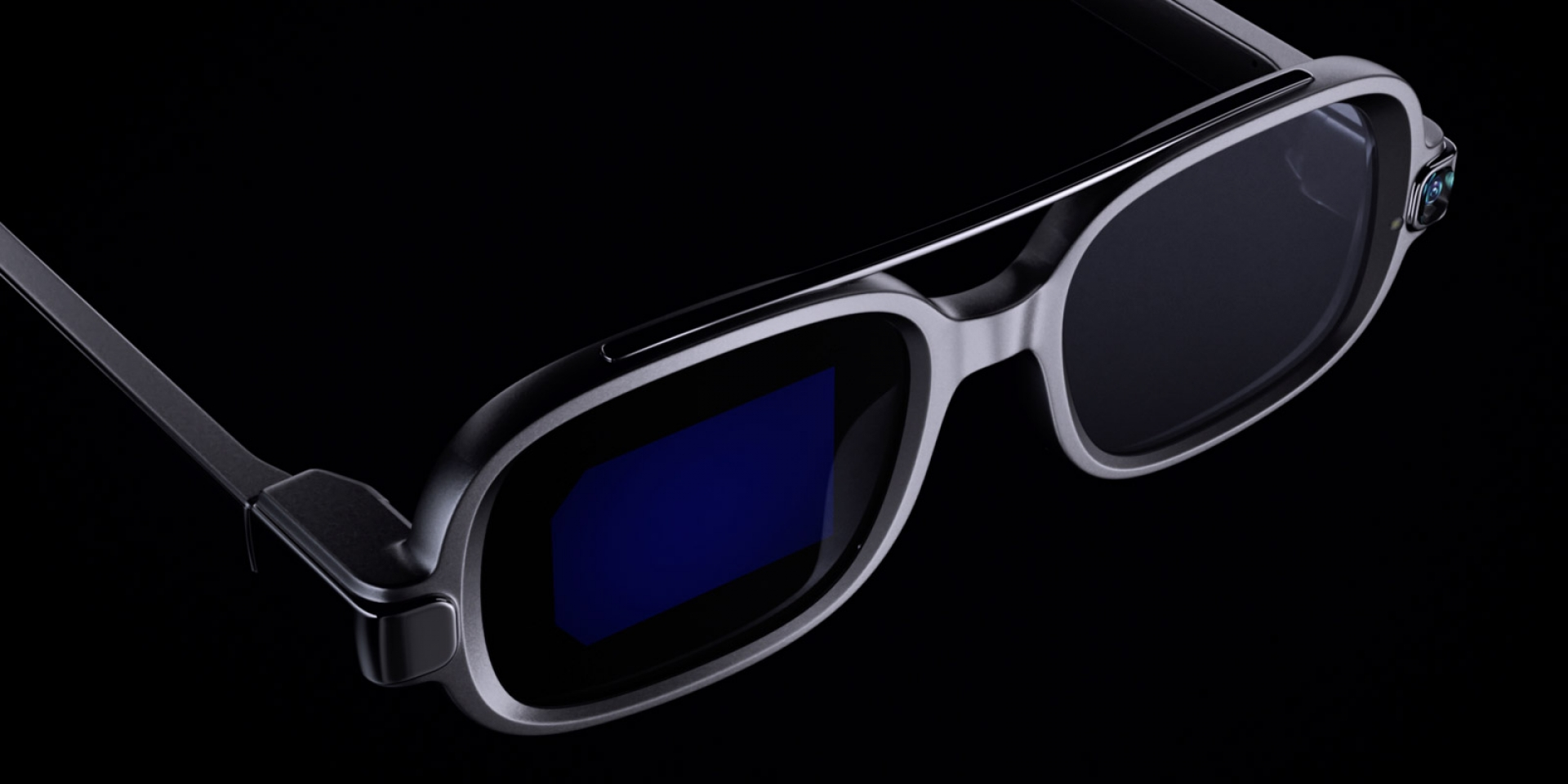 這根本是電影道具!小米推出智慧眼鏡概念品