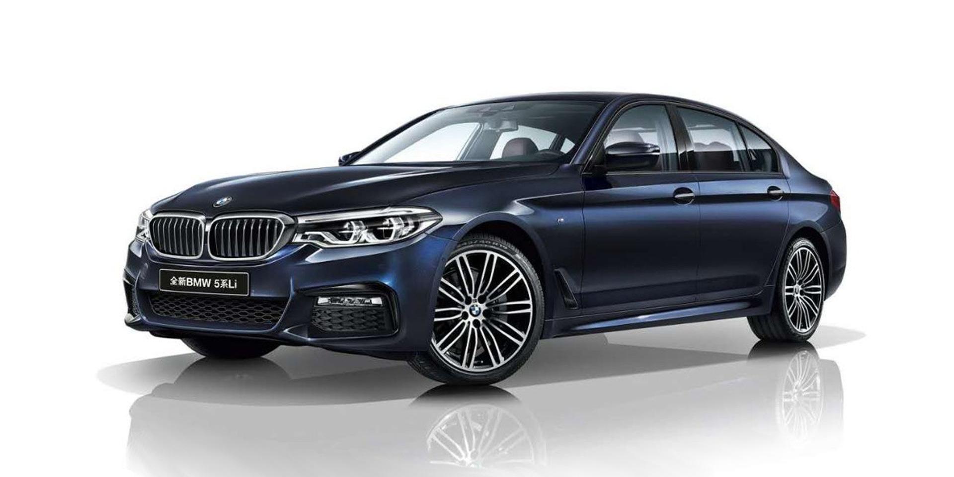 中國市場限定,BMW 5系列Li長軸版登場
