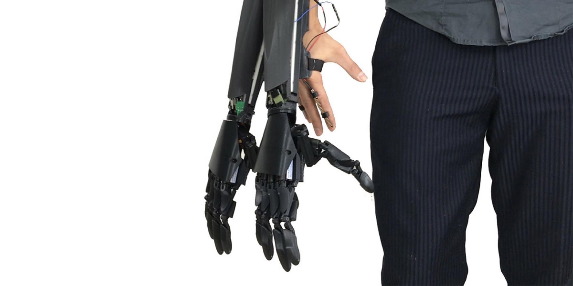 沒有三頭但有六臂,Youbionic多給你一雙手