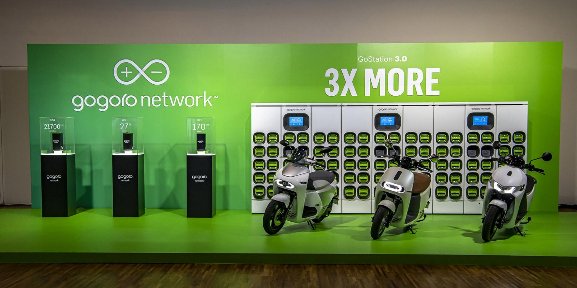 官方新聞稿。Gogoro Network™ 推出創新「自由省」資費方案,全新設計的 GoStation® 3.0、Super GoStation 電池交換站