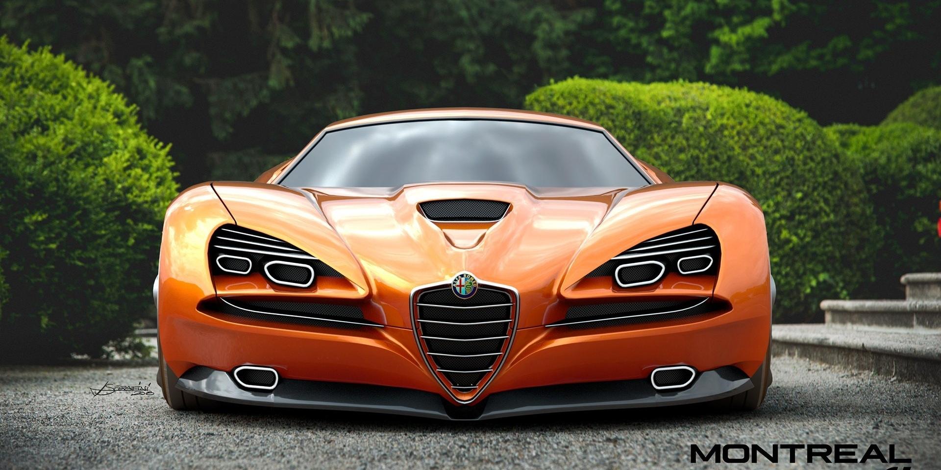 承襲經典靈魂 Alfa Romeo Montreal Vision GT Concept亮相!