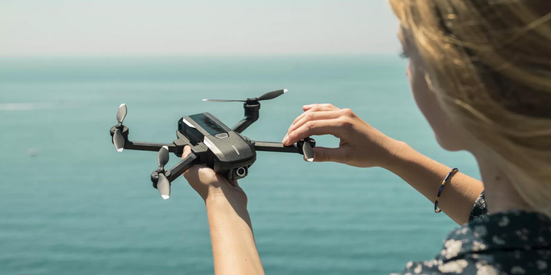 可飛行30分鐘的4K空拍機,Yuneec Mantis Q來勢洶洶!