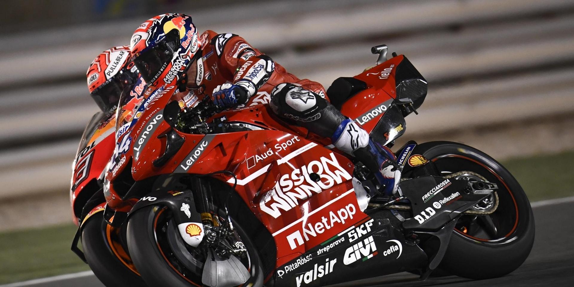 0.023秒的奇襲!Andrea Dovizioso:Marquez的攻擊有很多意義