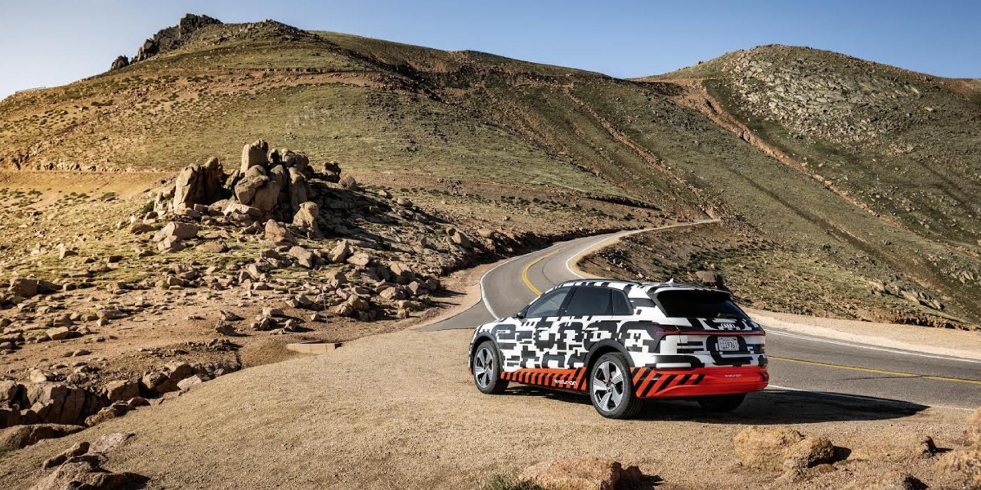 官方新聞稿。Audi e-tron prototype。超高效電能回充系統!