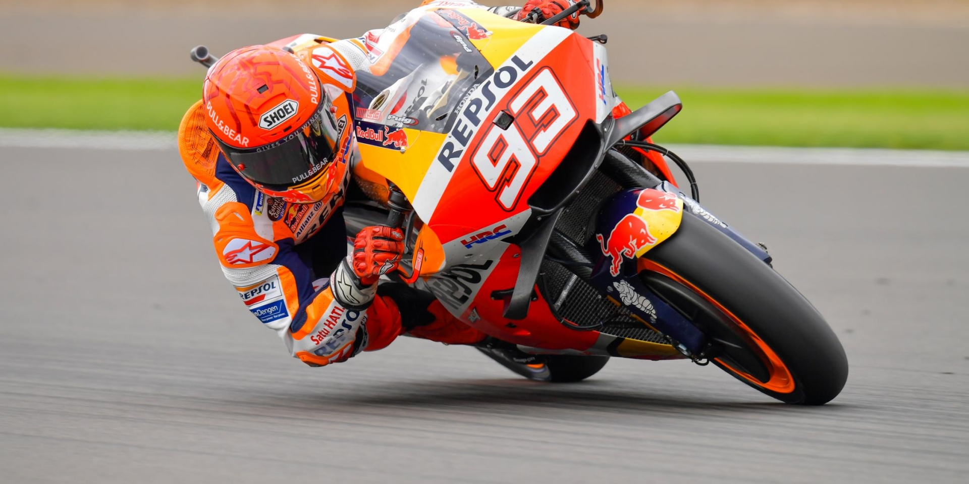 左彎多,逆時針起跑都是利多!Marc Marquez在Aragon賽道有好的機會拿下比賽!