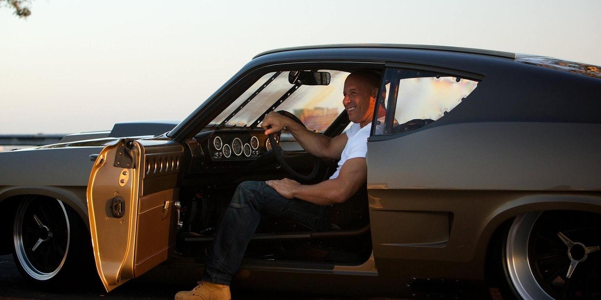 沒有一台車想碰到他!Vin Diesel撞爛了61輛車!