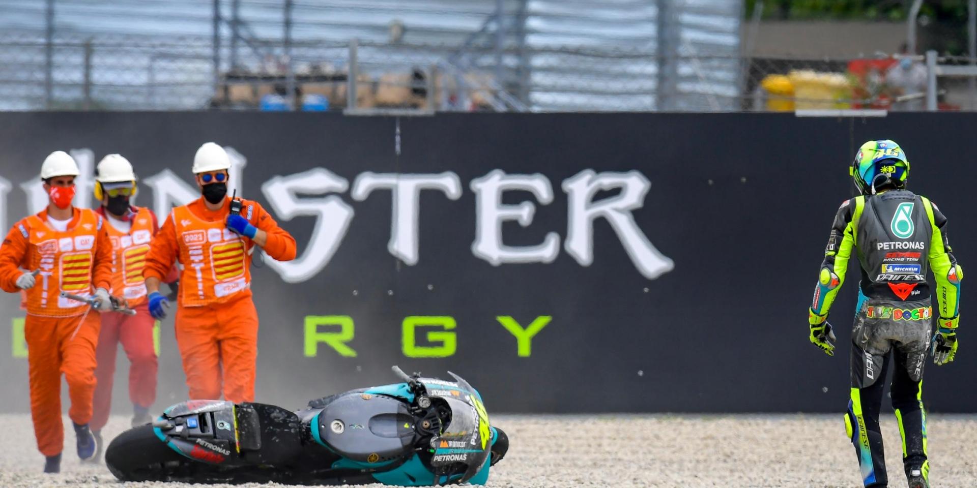 正賽變調!Valentino Rossi:我們沒有獲得預期中的抓地力,以轉倒收場相當可惜!