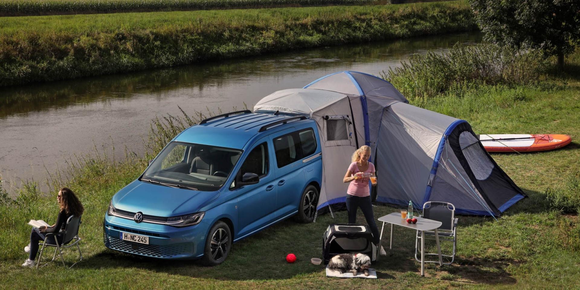 輕鬆入手露營車,VW Caddy California海外發表