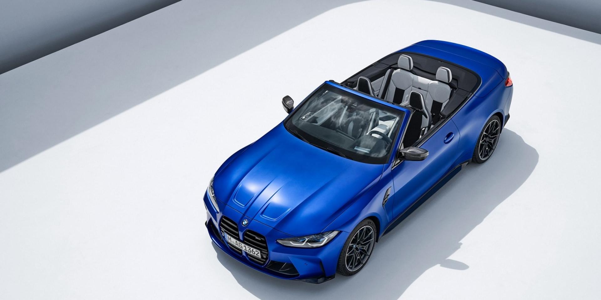BMW M4 Competition Convertible硬頂改軟頂,北美十月上市
