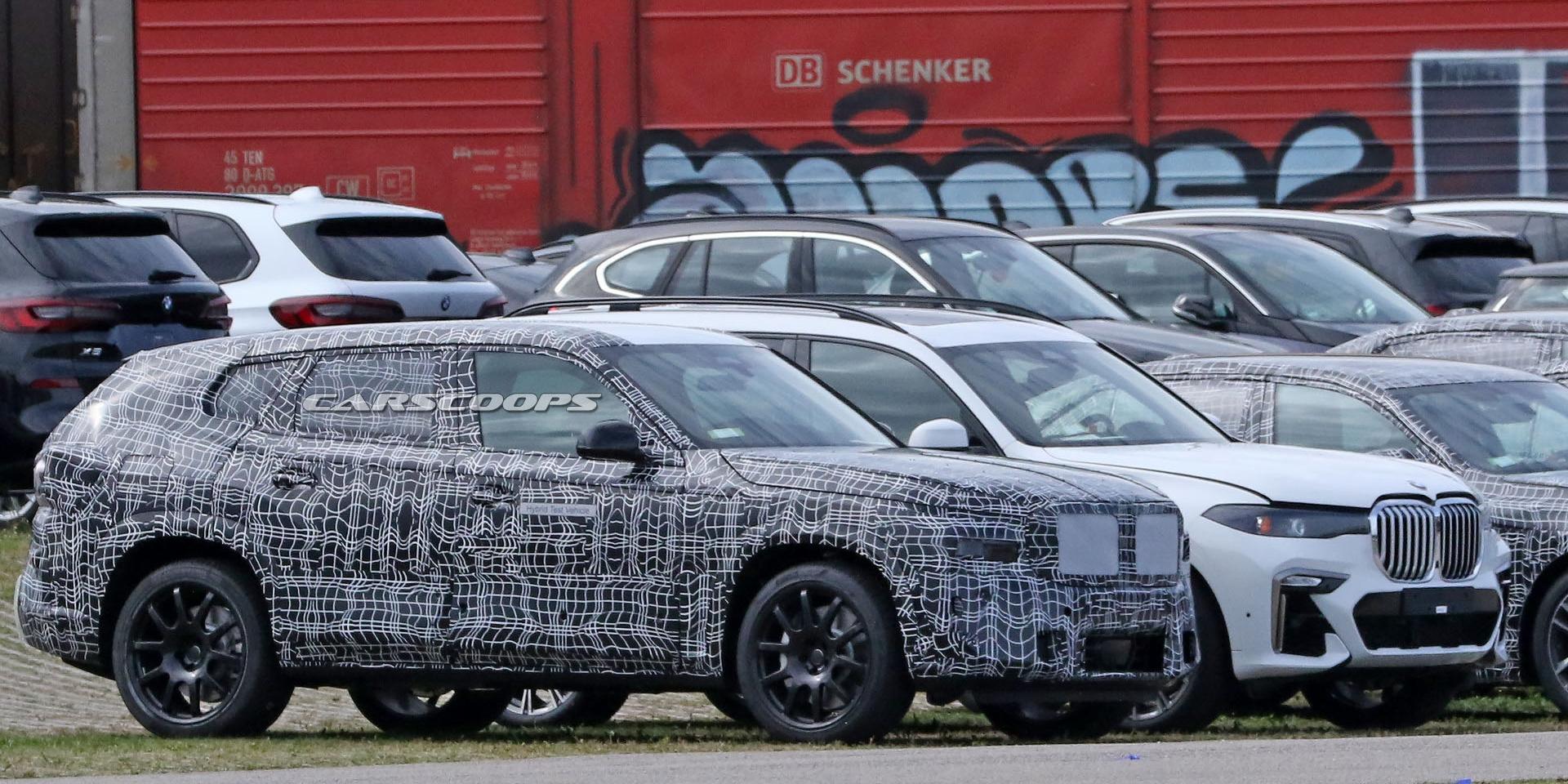 不走運動化路線?BMW X8偽裝照首度捕捉!