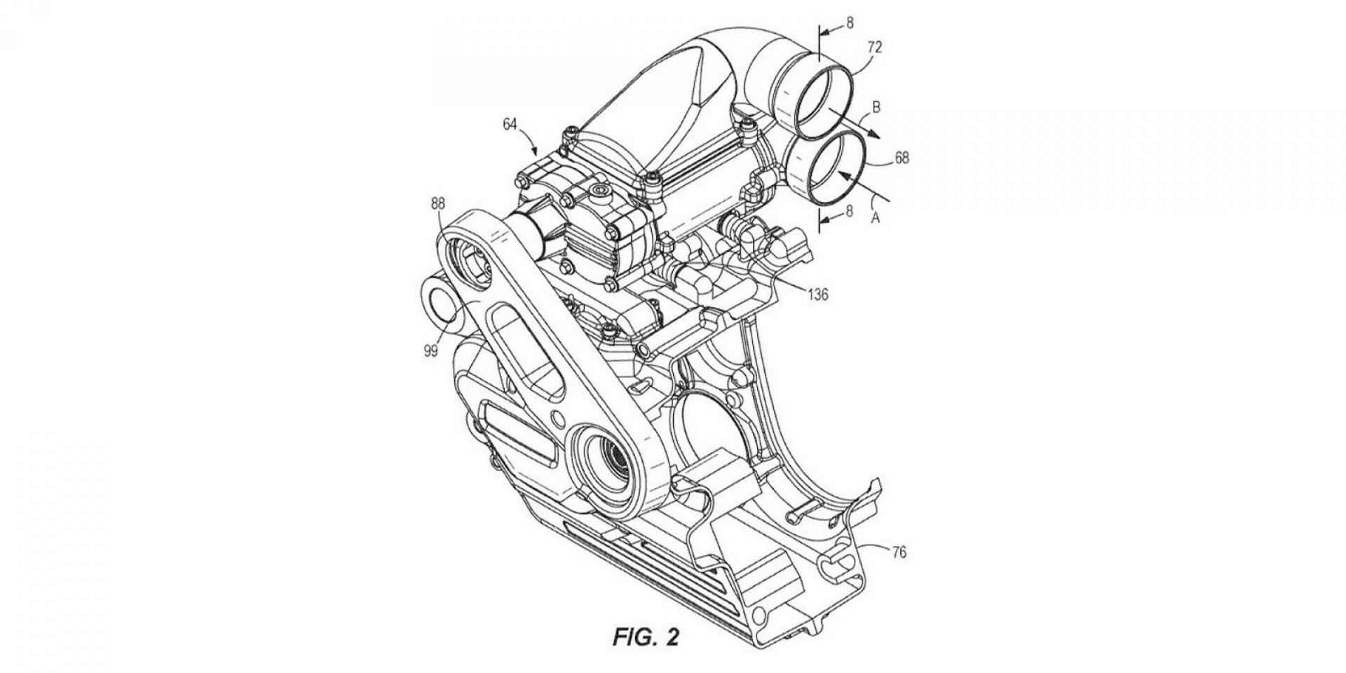 哈雷也玩增壓?Harley-Davidson機械增壓引擎專利曝光!