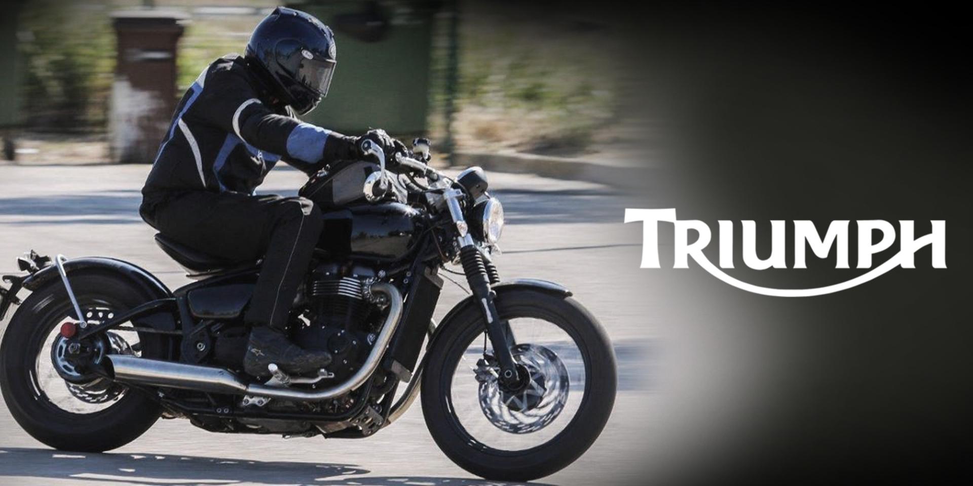 復古浪潮再添新兵-Triumph新車款,西班牙路測現身