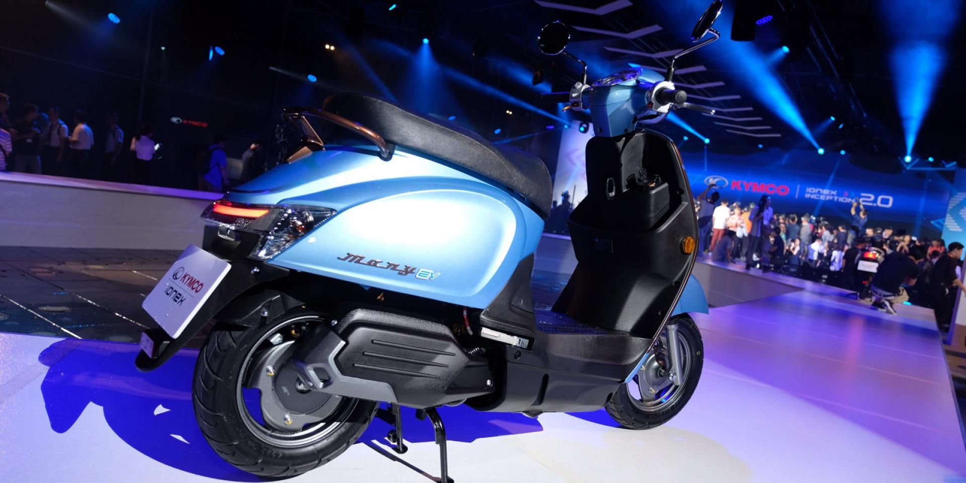 電池效能提升、吃到飽新費率、高雄捷運ATR租車登場。KYMCO Ionex 2.0 電動車新戰略全面啟動!