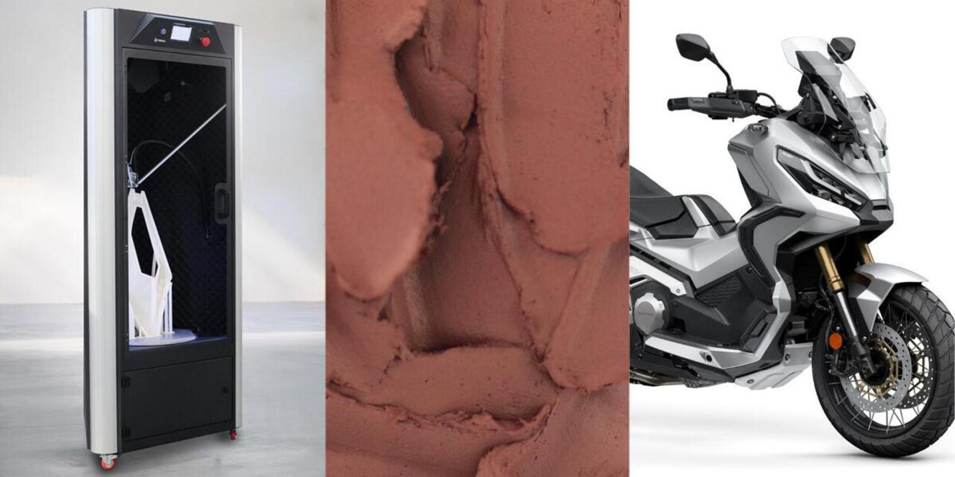 更加精準與快速。Honda宣布與WASP 3D列印合作