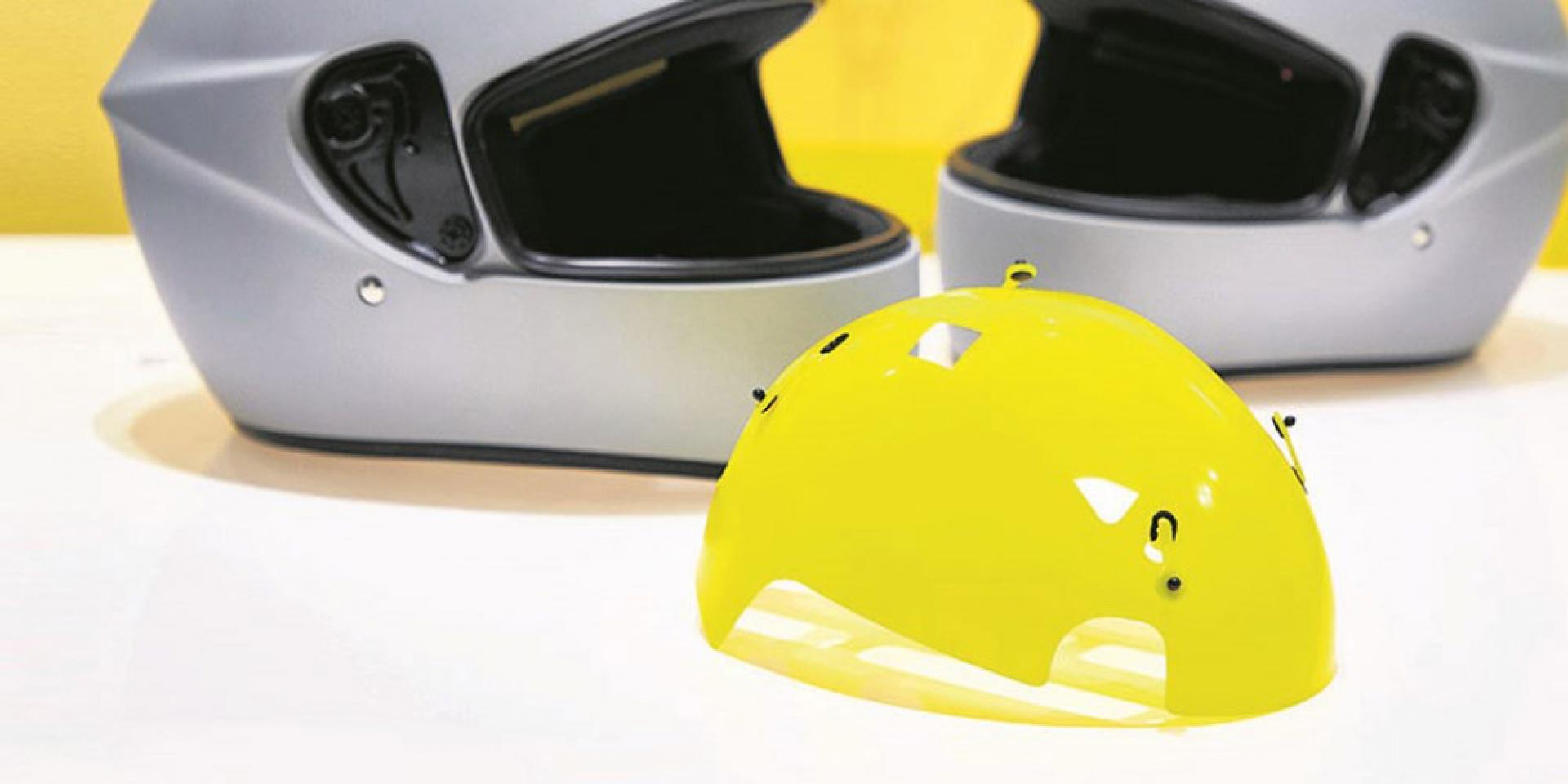 新技術 新觀念。MIPS安全帽新防護技術