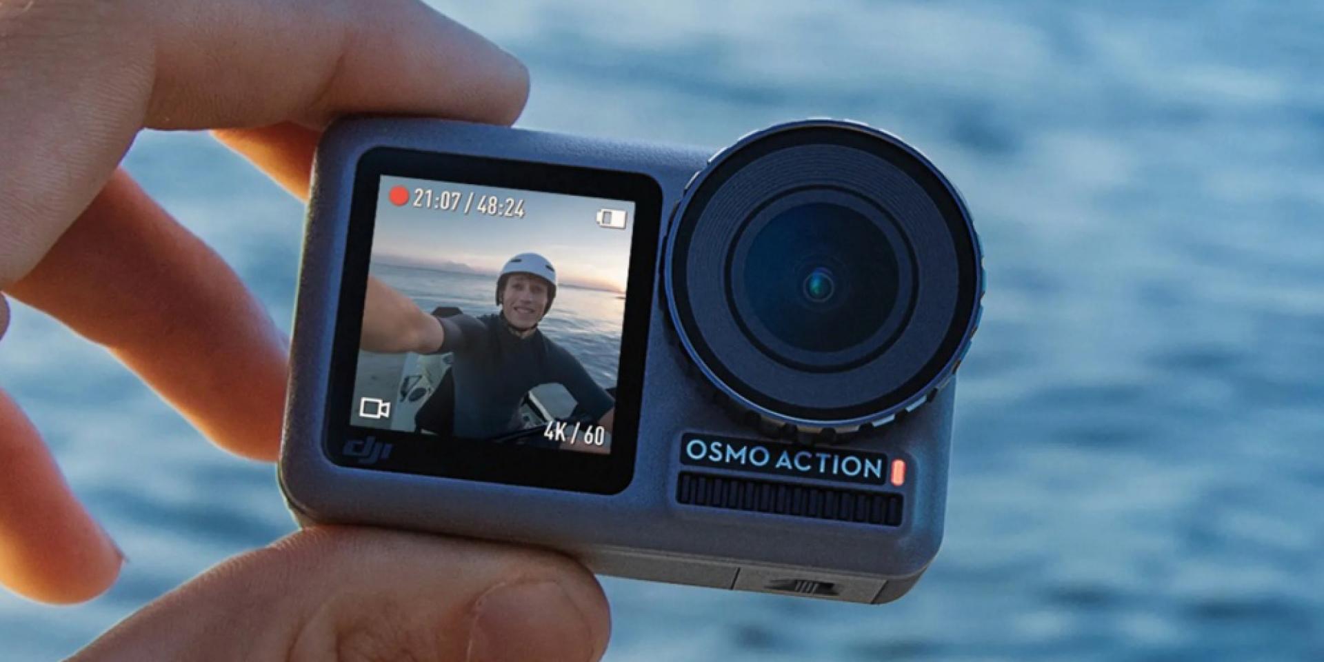 劍指各路英雄好漢!DJI 雙螢幕刺客「Osmo Action」12,000元超殺上市!