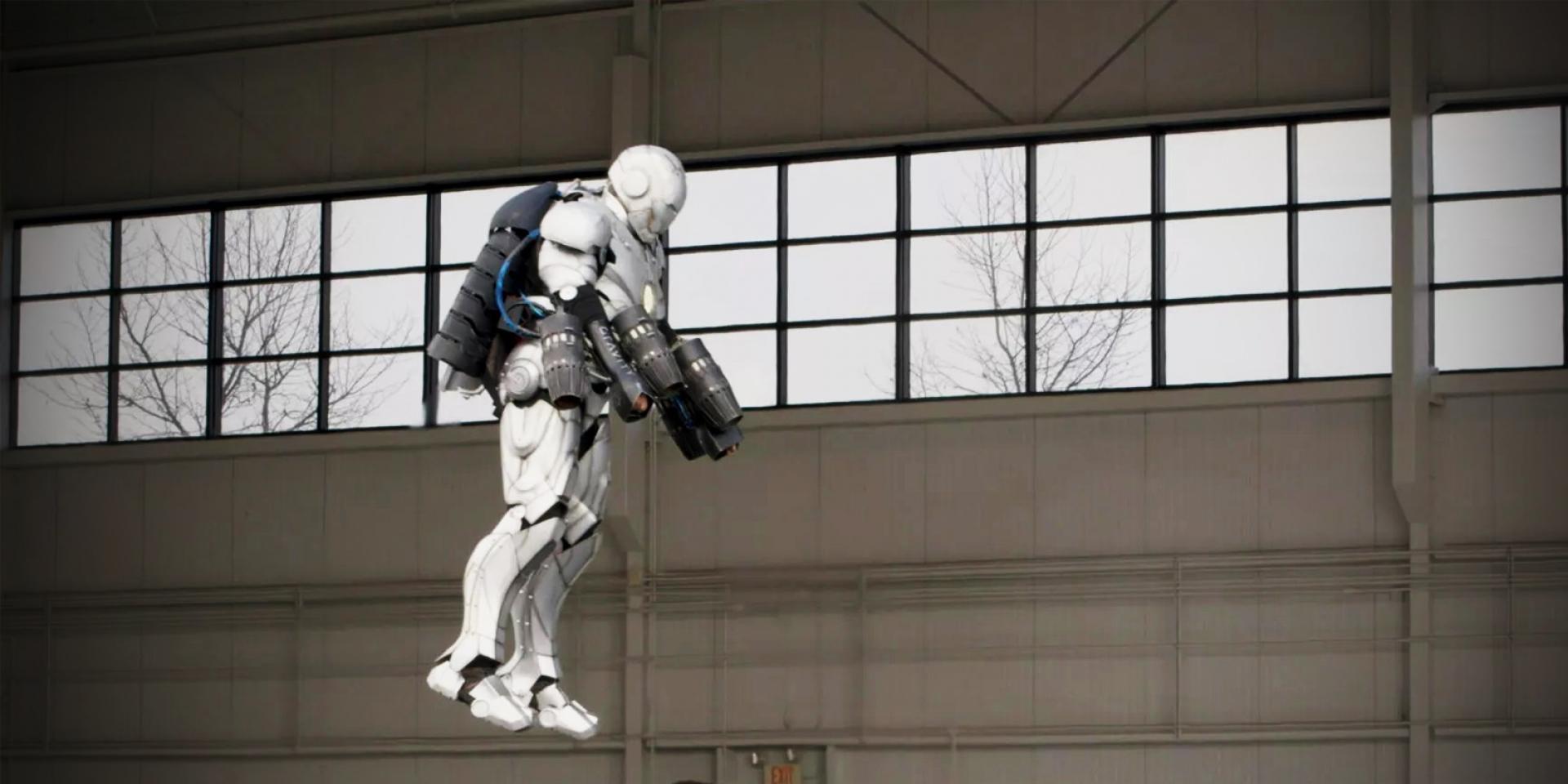 愛你三千遍!真的能飛的鋼鐵人動力服。MARK II by Adam Savage