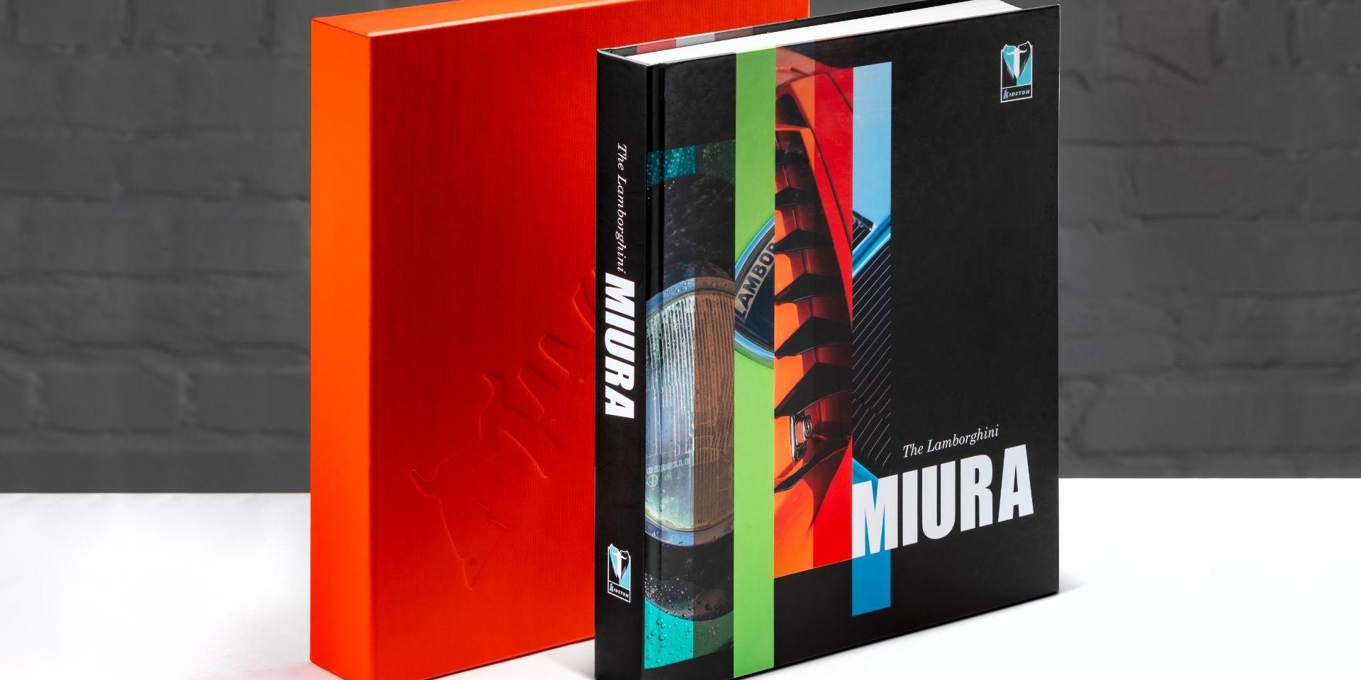 一本書竟然要價21萬!?Lamborghini Miura限量專書販售中!