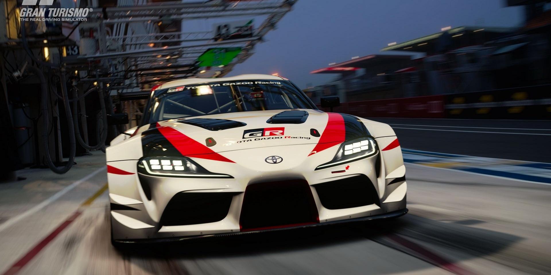 想體驗GR Supra Racing Concept概念車,就快點更新Gran Turismo Sport