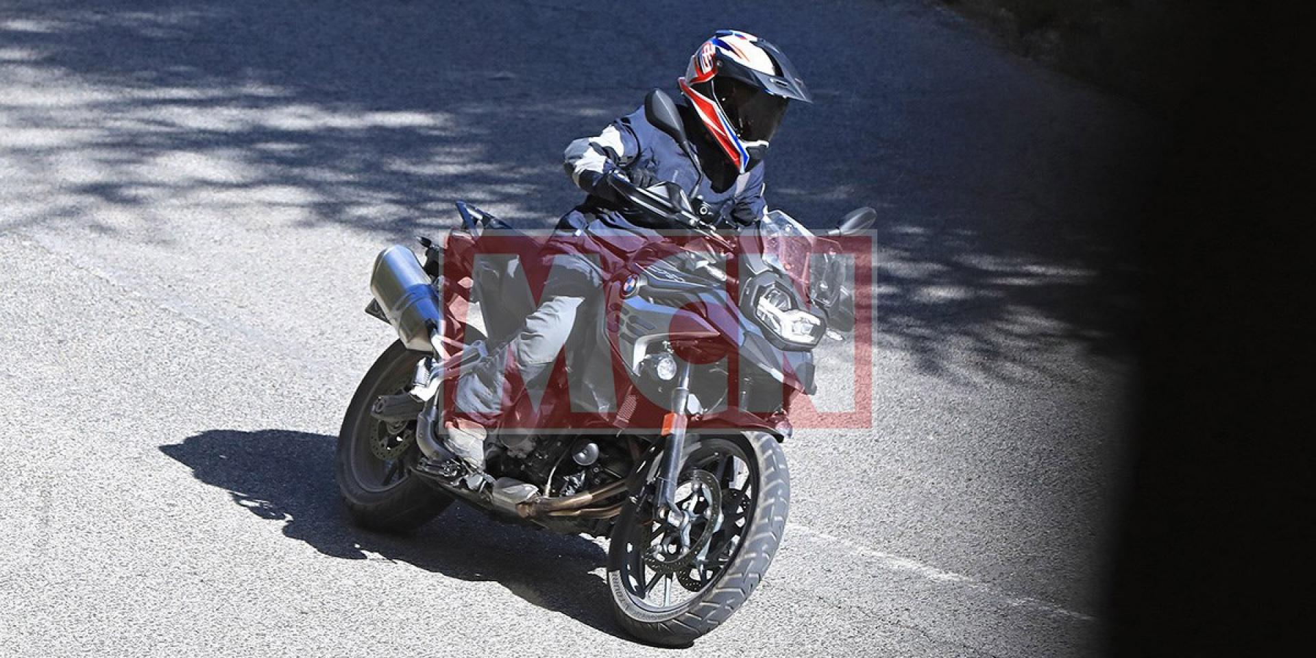 量產在即,BMW F750GS完整版測試車山道捕獲