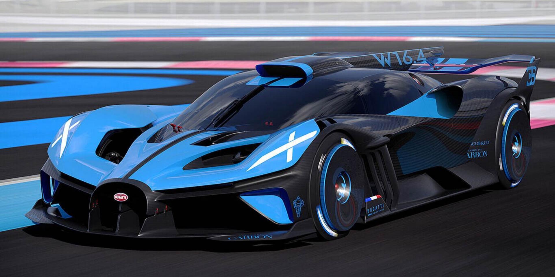 這次不跑直線,「理論」紐北單圈竟只要5:23.1!Bugatti Bolid終於曝光
