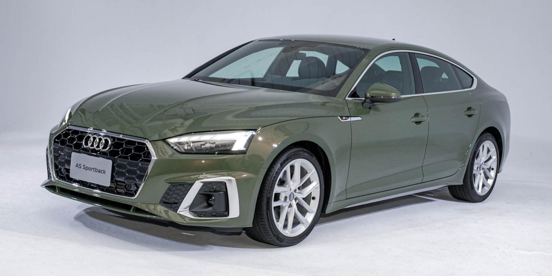 斜背轎跑現身!Audi A5 Sportback 內外小改款亮相