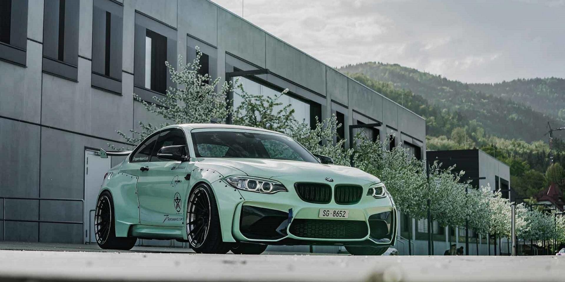 寬還要更寬,Z Performance推出BMW M2寬體套件