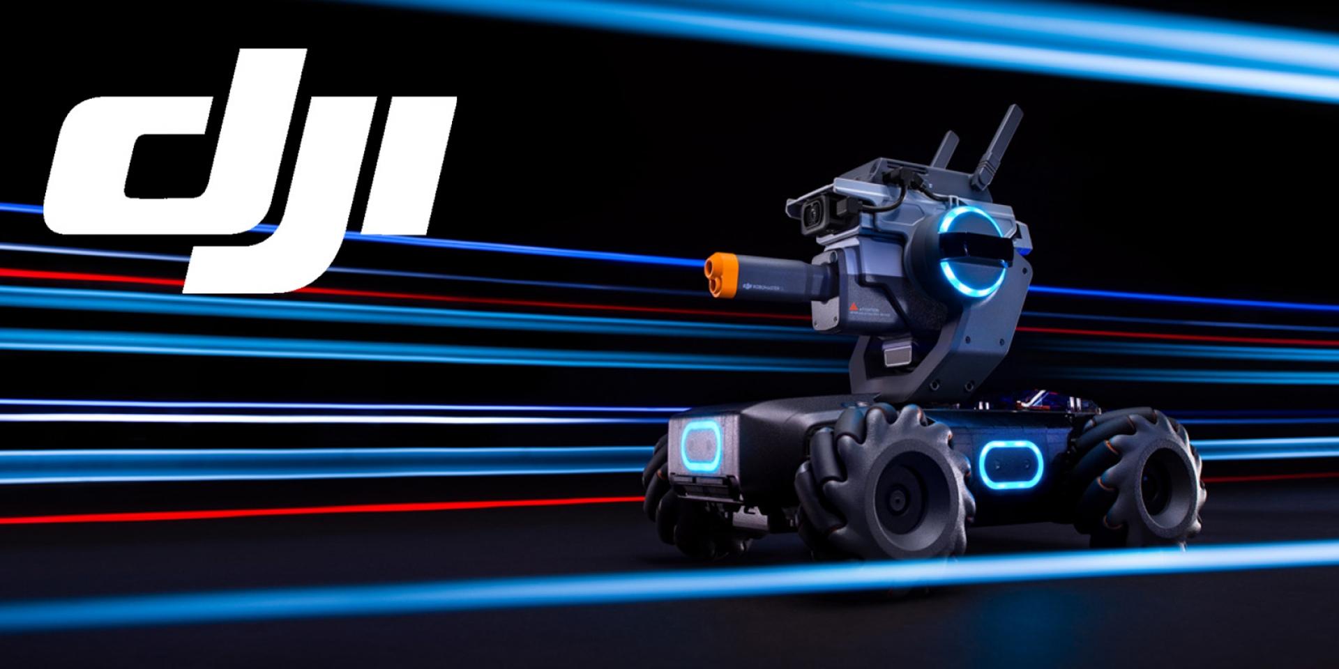 真。玩樂中學習,娛樂性十足的教育機器人。DJI RoboMaster S1