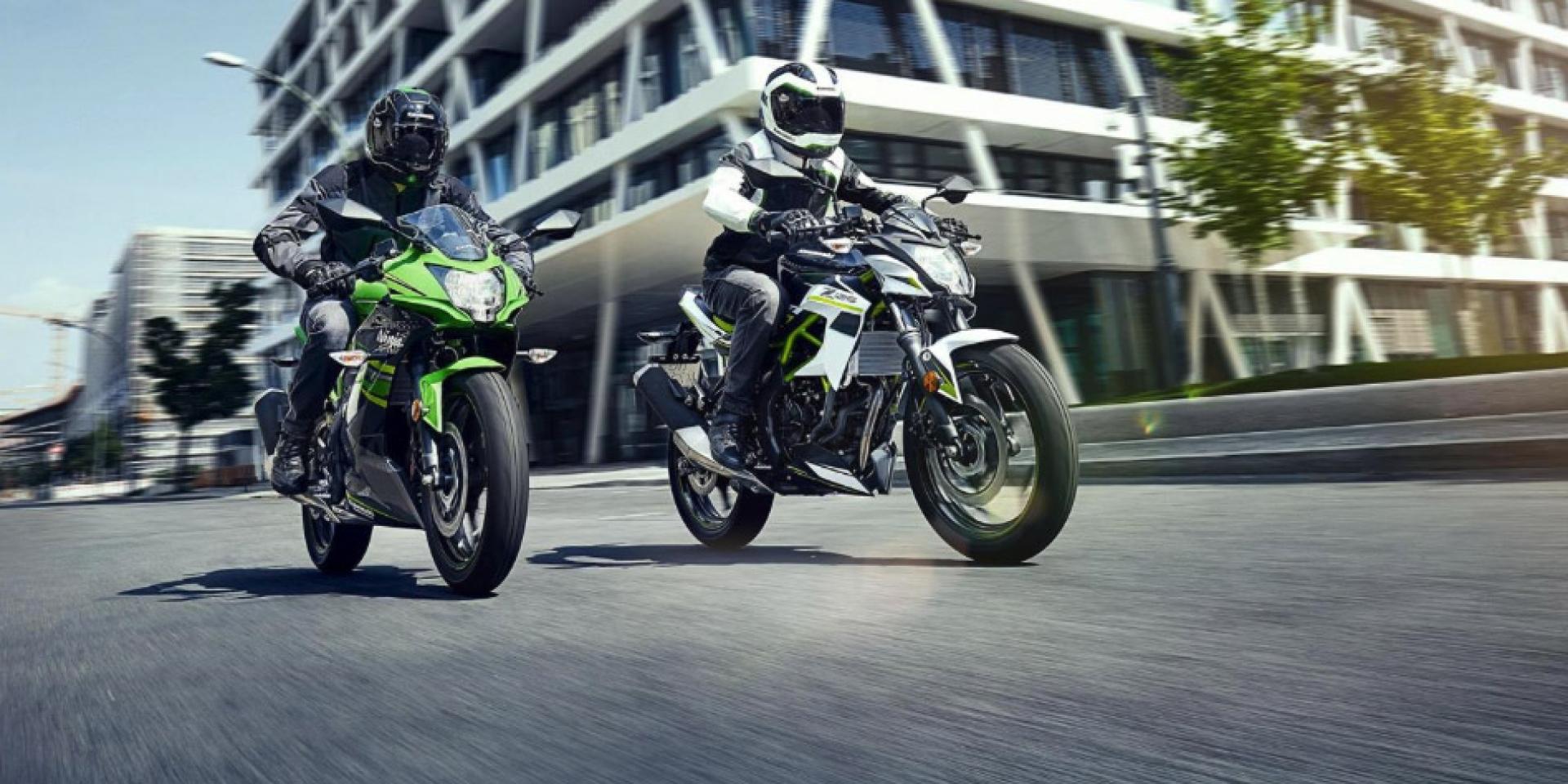 大尺碼來了!Kawasaki Ninja125/Z125全貌亮相