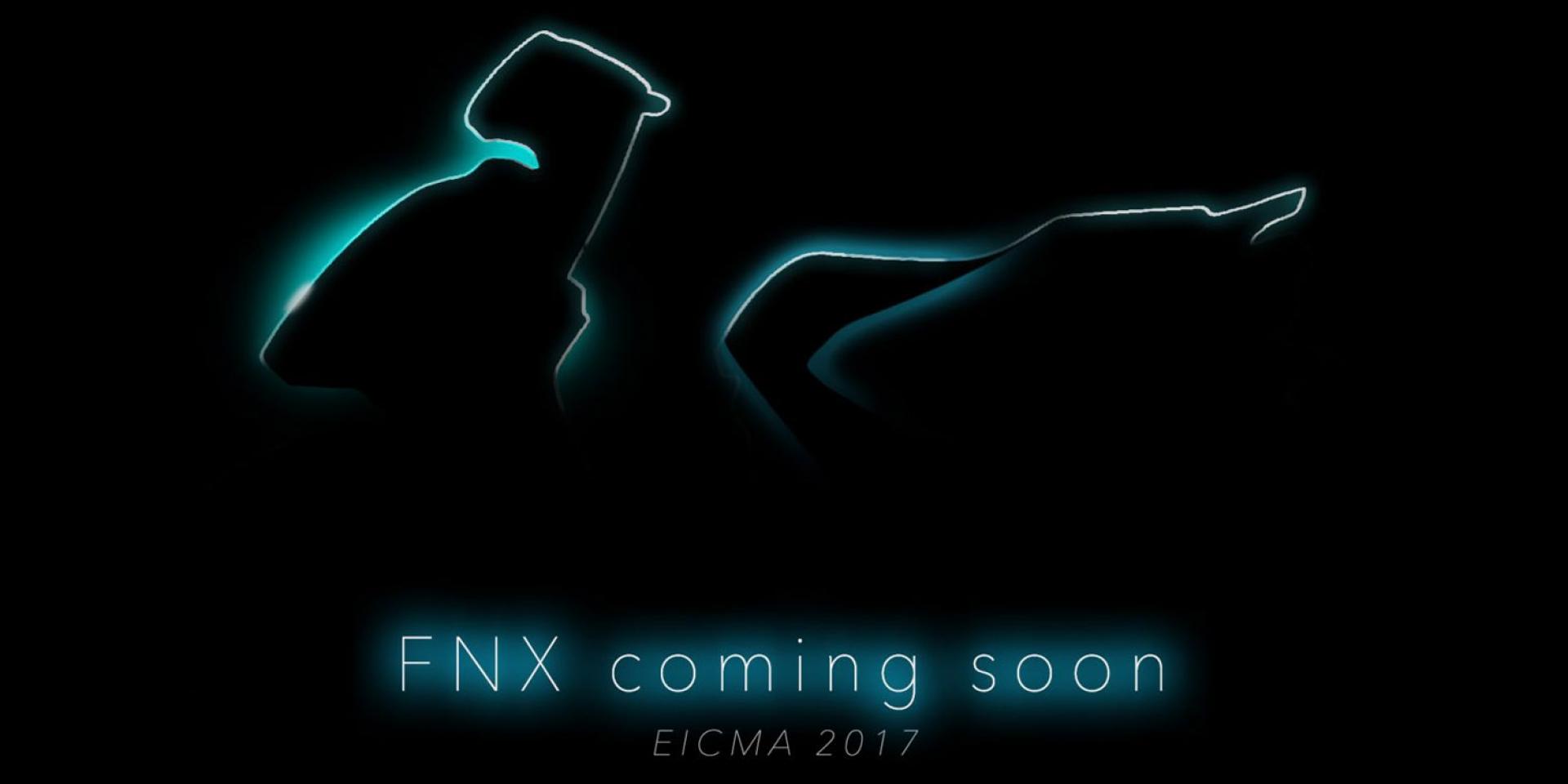 官方新聞稿。SYM米蘭車展概念車FNX 義大利設計師操刀 詮釋「Art-Fusion」設計概念
