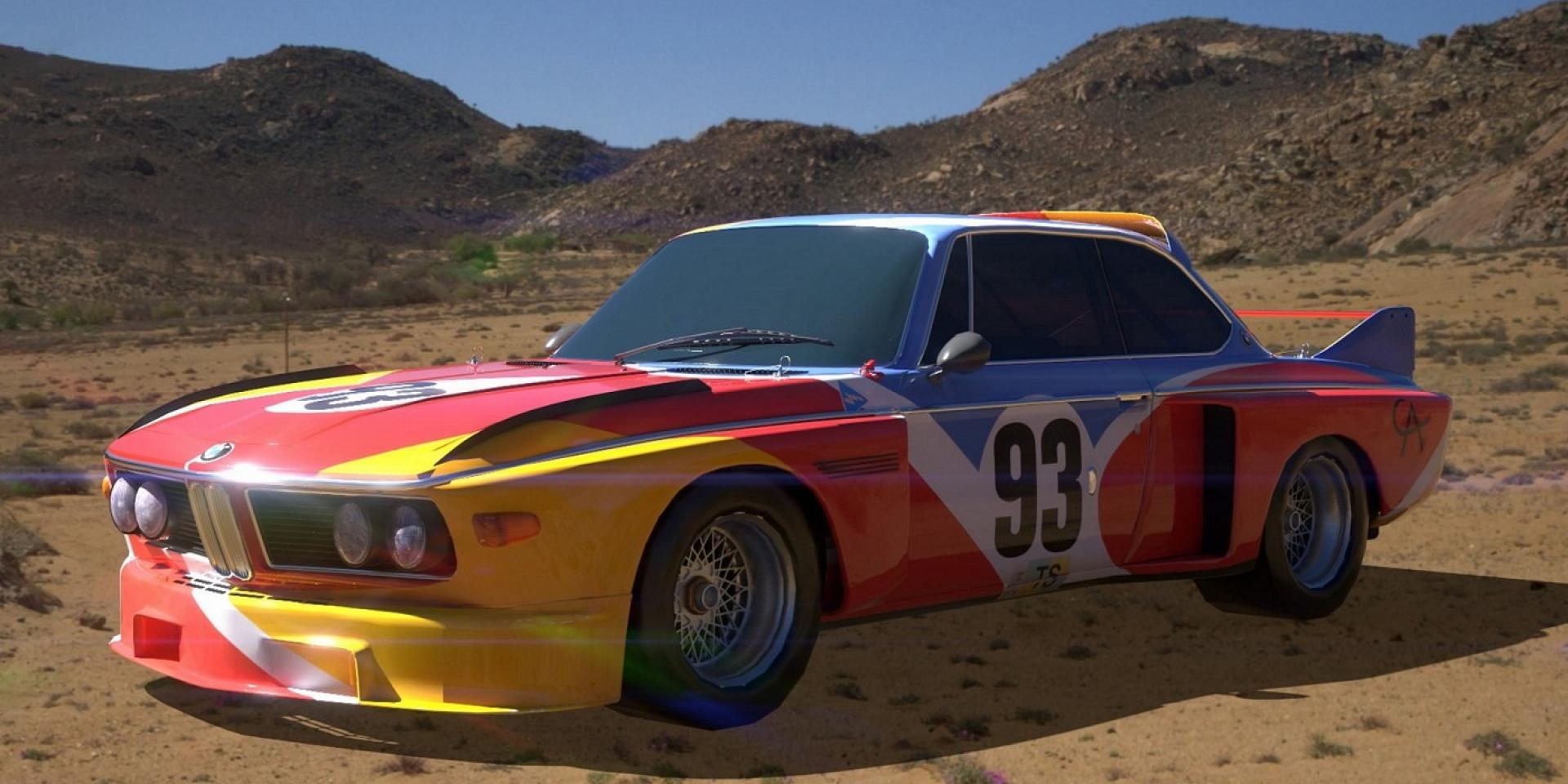無料下載APP,BMW經典藝術彩繪車出現在你眼前