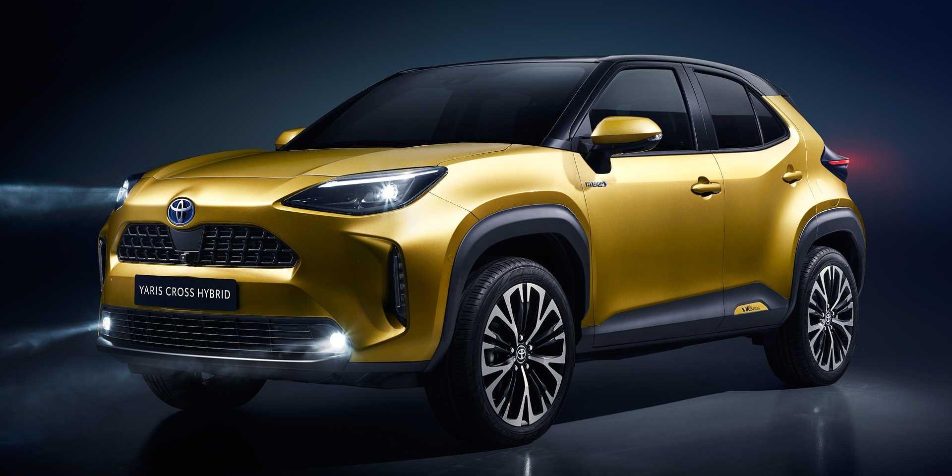 台灣想買也沒有!Toyota Yaris Cross正式發表!