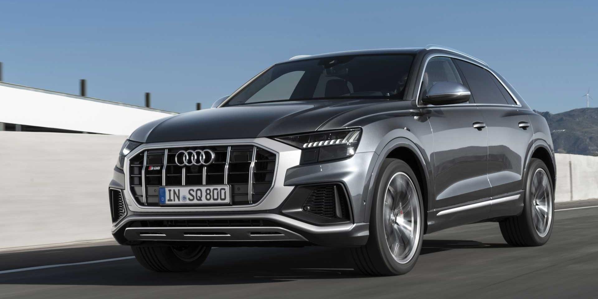 雙渦輪柴油V8 Hybrid上身!2020 Audi SQ8狂暴亮相!