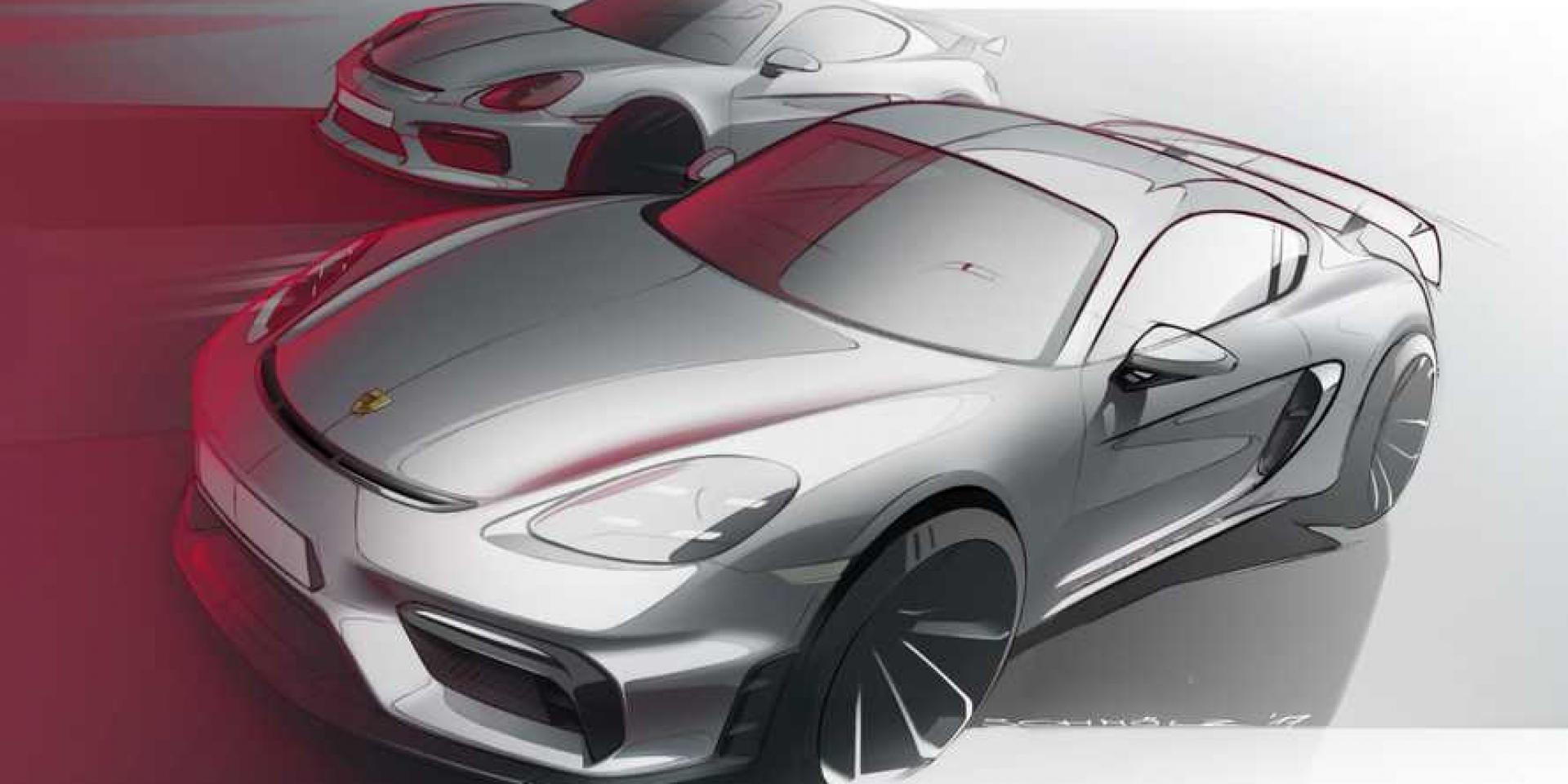 Porsche入門電動車 Cayman Electric將擁有400hp動力!