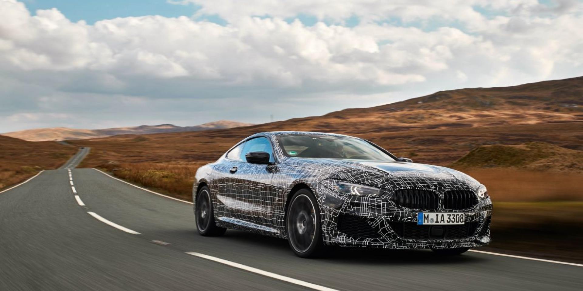 BMW M850i xDrive將有四秒內破百能力,最快年底銷售
