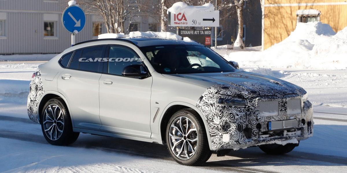 3、5系列綜合體?BMW小改款X4內裝長這樣!