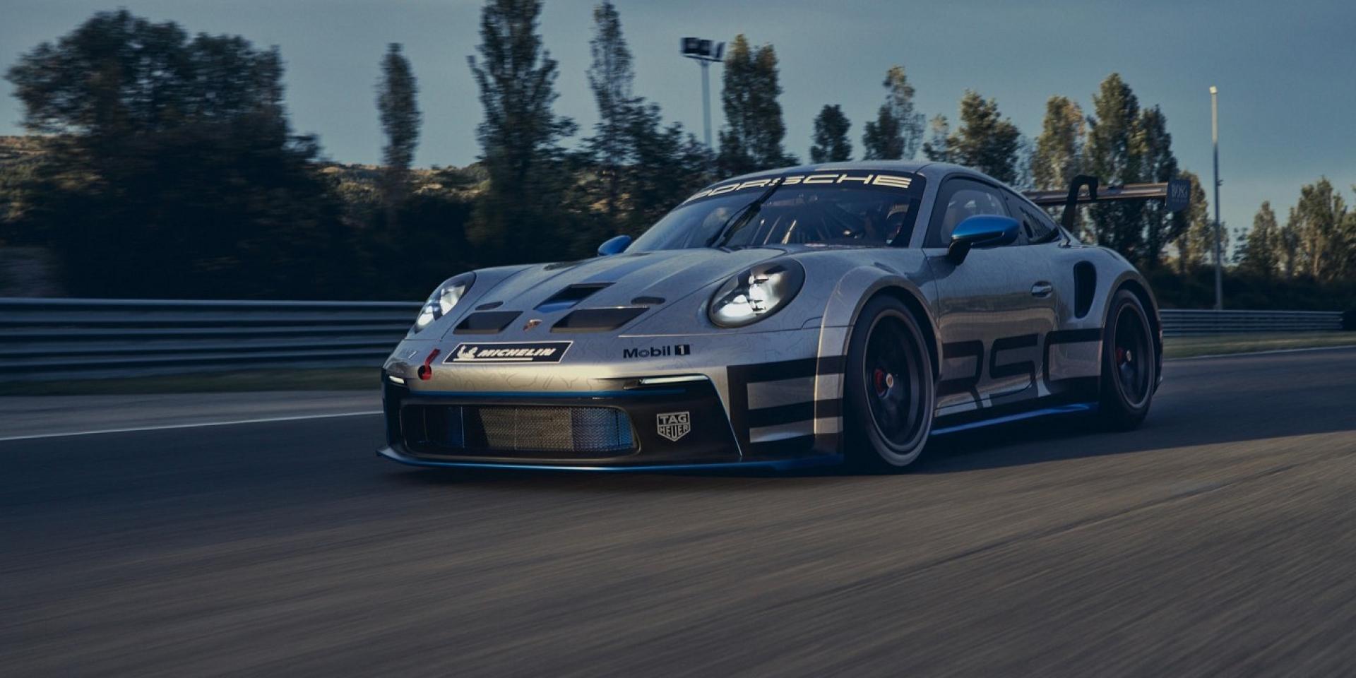 明年2月代號992全新Porsche 911 GT3 Cup加入賽事