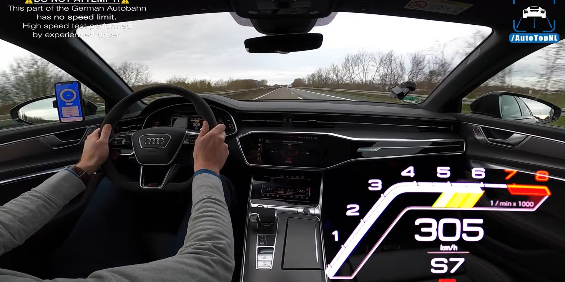 微油電更加分 Audi RS6 Avant跑出高達300km/h極速!
