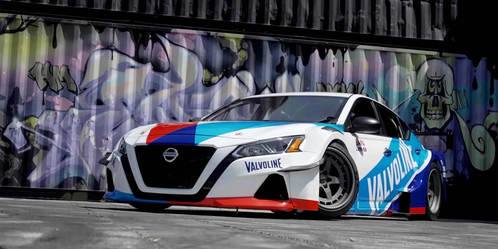 史上最強Nissan Altima!搭載GT-R引擎擁有2000hp動力!