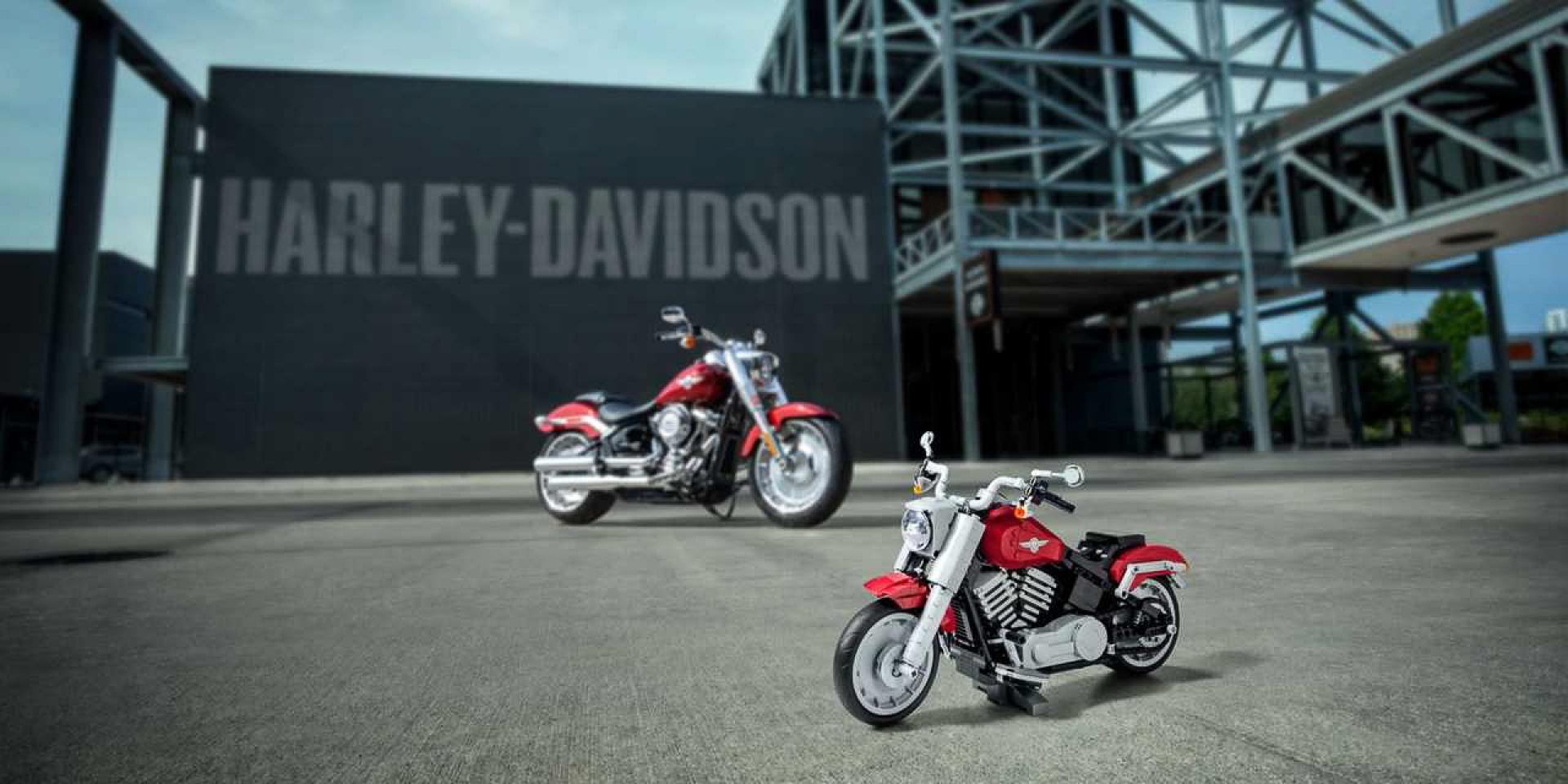 樂高又一機車力作!Harley-Davidson Fat Boy超擬真登場!