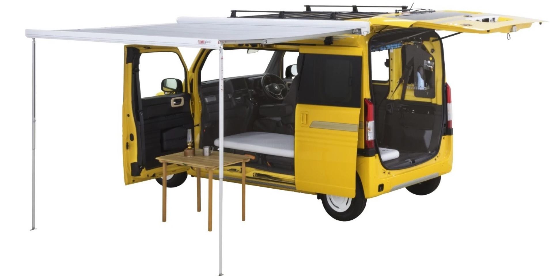 單身狗的專屬空間!Honda N-Van微型單人露營車讓你孤獨ㄧ生!