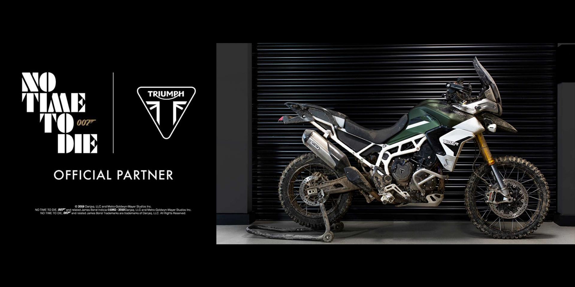 Triumph成為007新坐騎! Tiger 900/Scrambler 1200 大螢幕亮相!